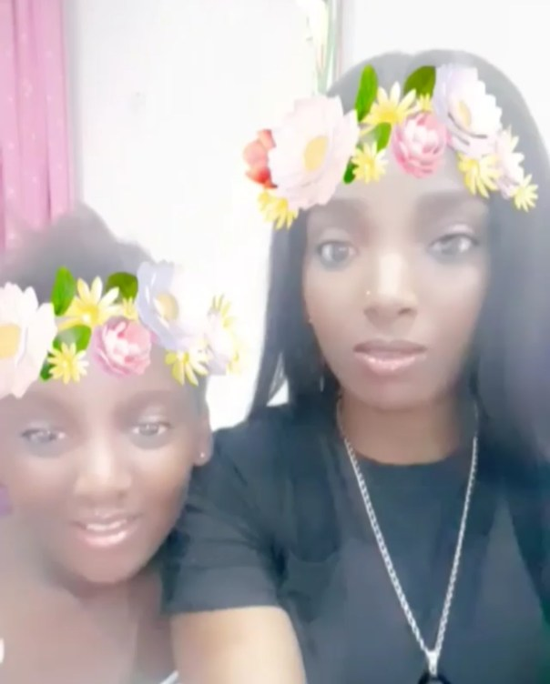 Annie Idibia's Second Daughter Olivia Has Told Her That She's Not Loved Like Her Elder Sister (4)