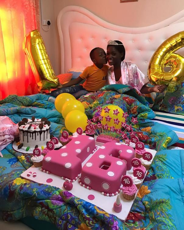 Mercy Aigbe Celebrates As Daughter Michelle Turns 16 (10)