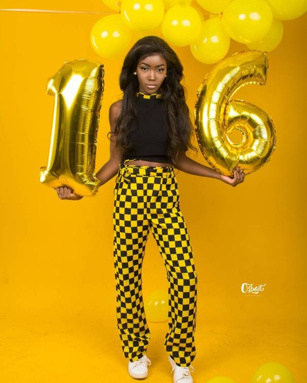 Mercy Aigbe Celebrates As Daughter Michelle Turns 16 (2)