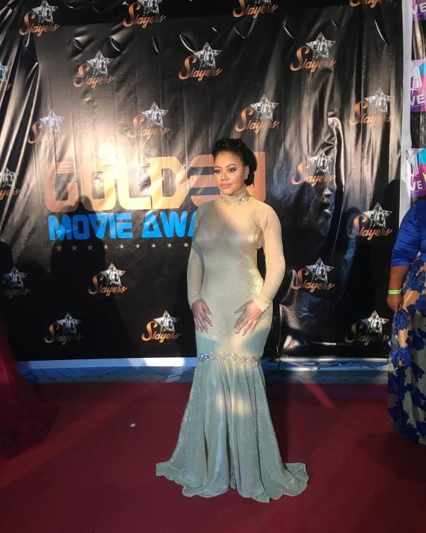 Nadia Buari 2017 Golden Movie Awards Africa