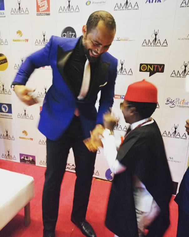 Ramsey Nouah And Chinedu Ikedieze Pictured Together (2)