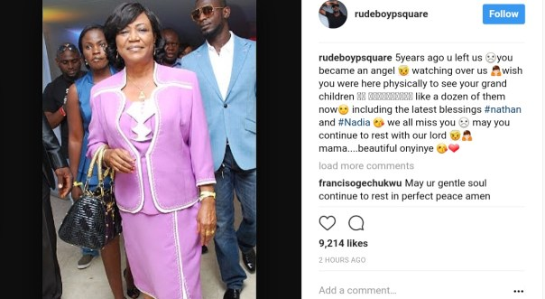 Peter And Paul Okoye Remember Their Mum Josephine Okoye Five Years After Her Death (2)