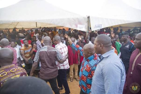 Nana Akufo-Addo Visited Major Maxwell Mahama Murder Site In Denkyira-Obuasi (4)