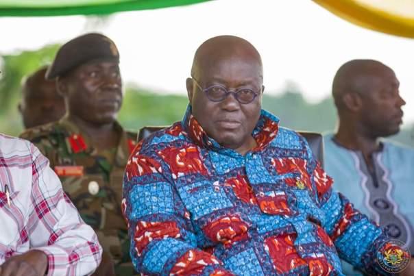 Nana Akufo-Addo Visited Major Maxwell Mahama Murder Site In Denkyira-Obuasi (6)