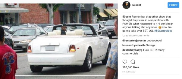 50 Cent Takes Shot At Empire Or Game Of Thrones (1)
