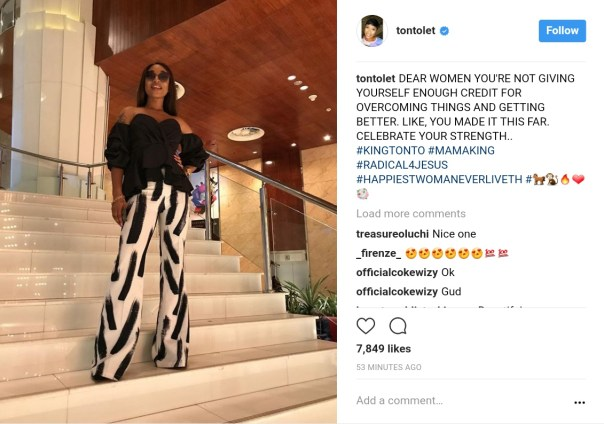 Tonto Dikeh Thinks Women Are Not Giving Themselves Enough Credit For Overcoming (1)