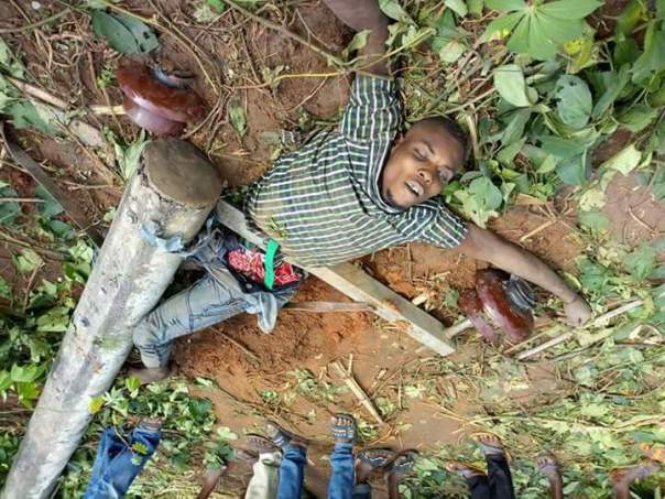Man Dies After Pole Fell On Him While Attempting To Steal Electric Cables (1)
