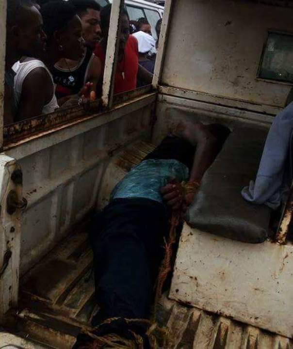Young Man Killed His Mother After Smashing Her Head With Pepsi Bottle In Benin City (2)