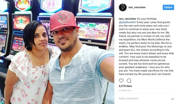 Van Vicker Celebrates Look-Alike Sister Phylicia Anderson As She Adds Another Year (1)