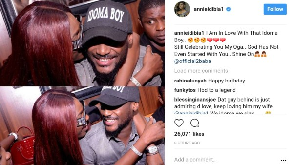Annie Idibia Is Still Celebrating Tuface (1)