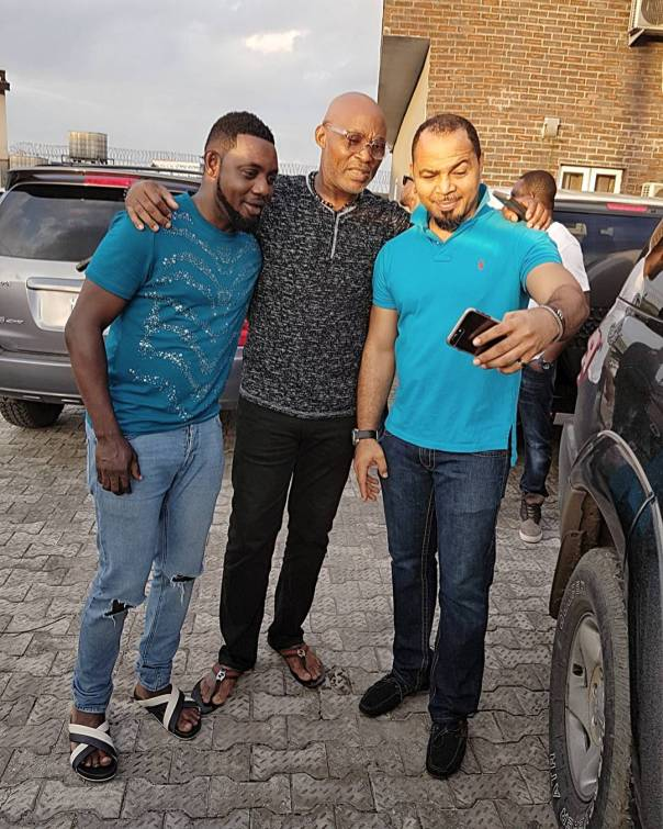 Comedian AY Pictured Alongside Ramsey Noah And RMD (1)