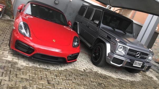 Patoranking Brand New Ferrari