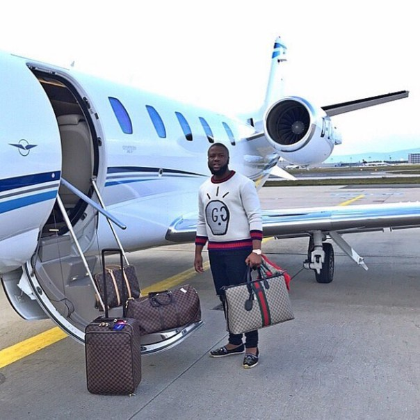 Hushpuppi Mocks His Haters While Boarding A Private Jet (2)