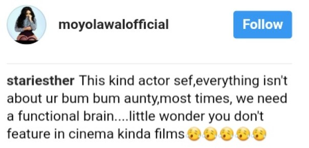 """Belly Ache: """"Uexpose your body too much.. No b say u fine like that"""" — Fans Come For Sexy Nollywood Actress Moyo Lawal Over Revealing Too Much Thighs (3)"""