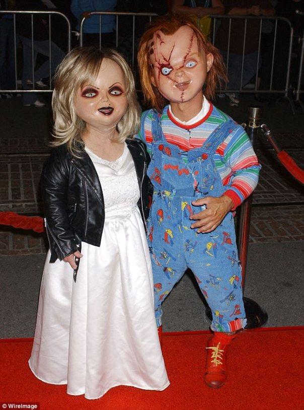 Chucky Doll With Tiffany
