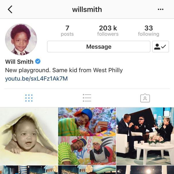 Will Smith Shares Epic Baby Throwback Of Himself After Joing Instagram (3)