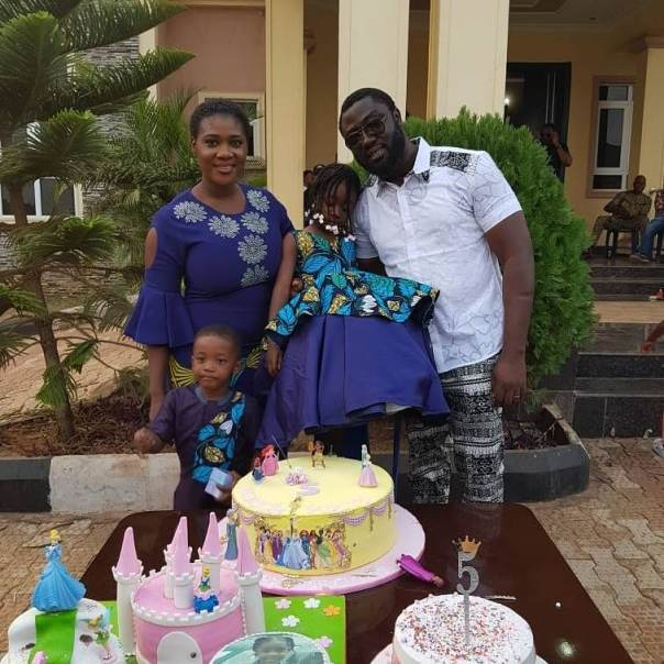 Mercy Johnson And Husband Prince Odi Okojie Celebrate Purity's 5th Birthday (6)