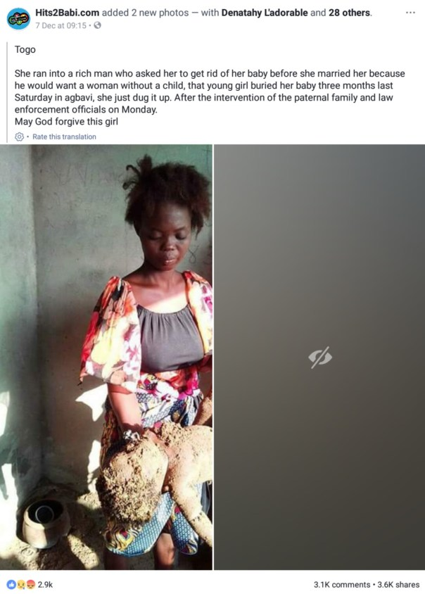 Single Mother Buries Her 3-Month-Old Baby Alive So That She Can Marry A Rich Man (2)