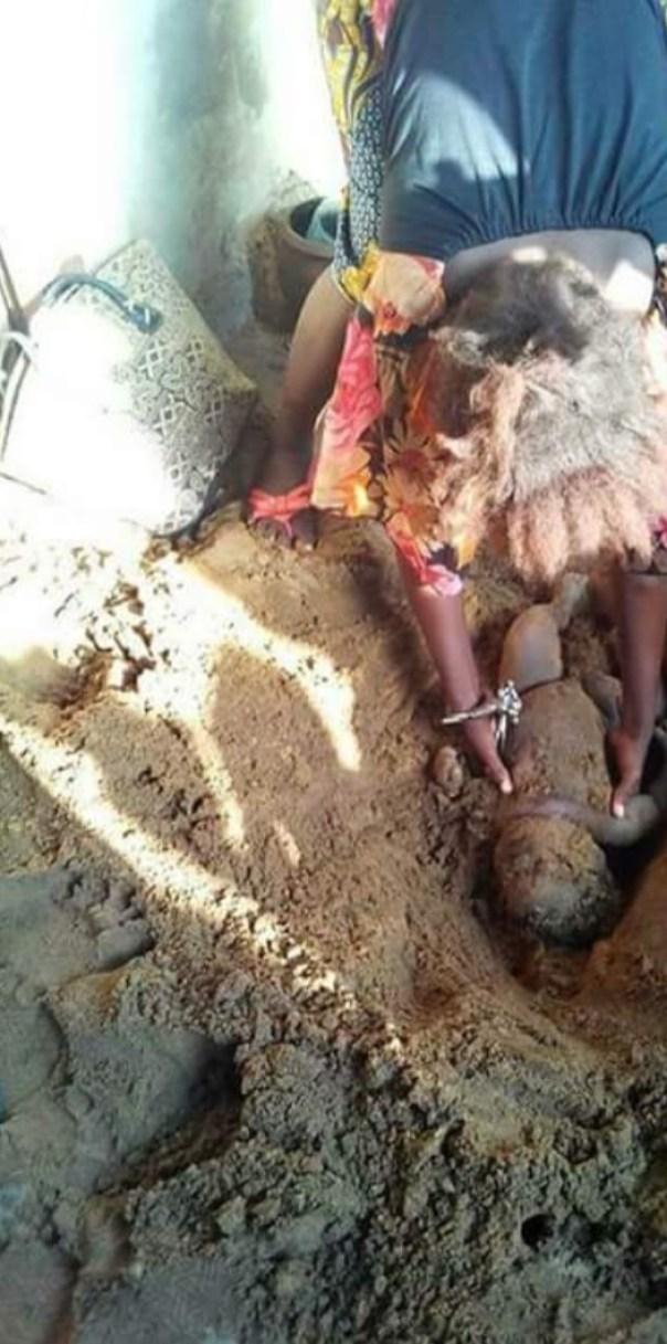 Single Mother Buries Her 3-Month-Old Baby Alive So That She Can Marry A Rich Man (3)