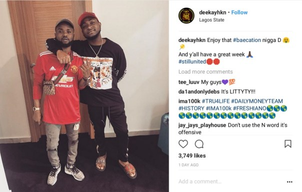 Davido And Mystery Woman On Romantic Holiday In Dubai (5)