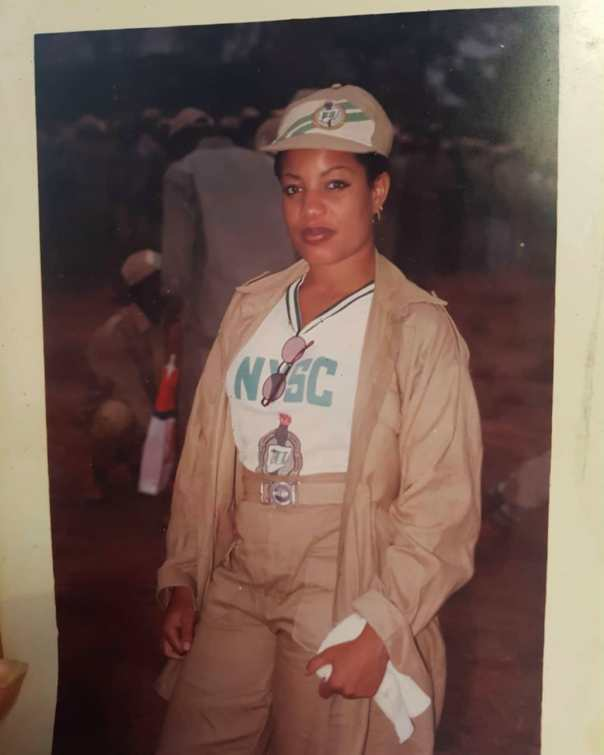 Monalisa Chinda Rocking Her NYSC Uniform (2)