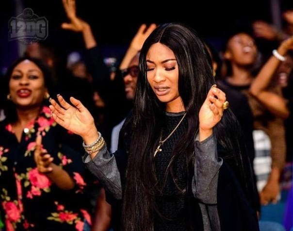 Tonto Dikeh Thinks You Might Feel Ashamed Of Her If You Follow Her To Church (4)