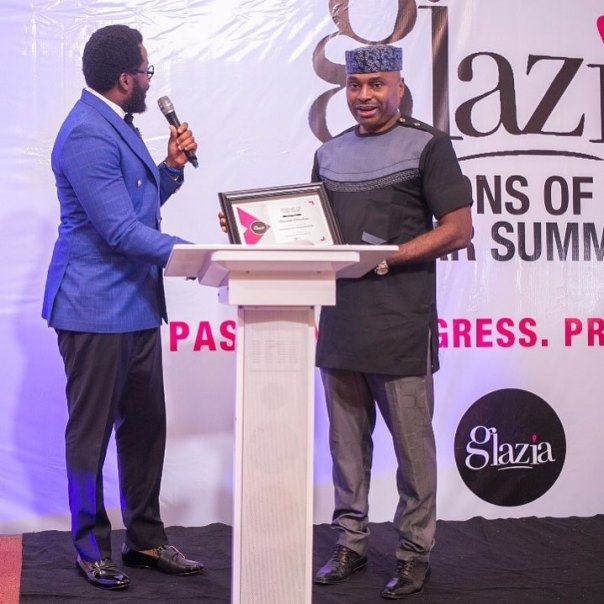 Kenneth Okonkwo Is Honoured With PERSON OF THE YEAR By Glazia Magazine (2)
