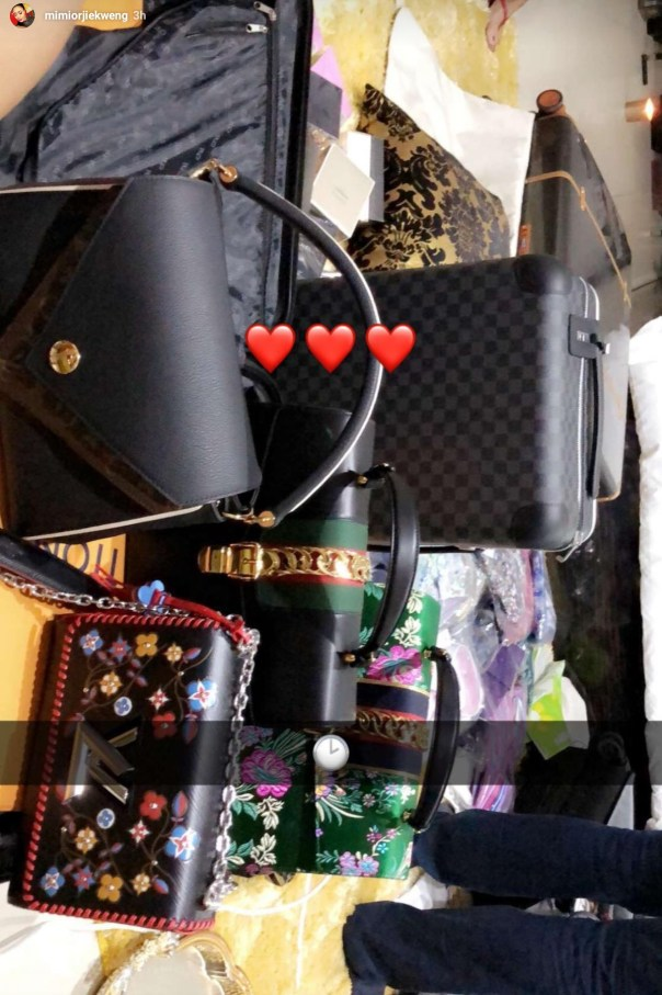Mimi Orjiekwe Shows Off Her N1.3m Louis Vuitton Bag (3)
