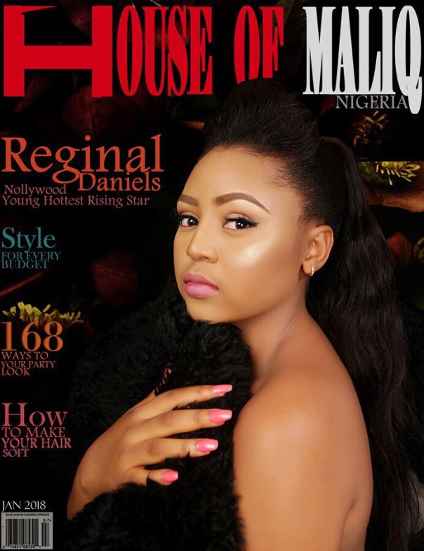 Regina Daniels On The Cover Of House Of Maliq January Edition (2)