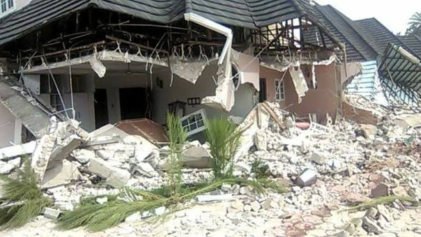 Don Waney Mansion Demolished In Rivers State (4)