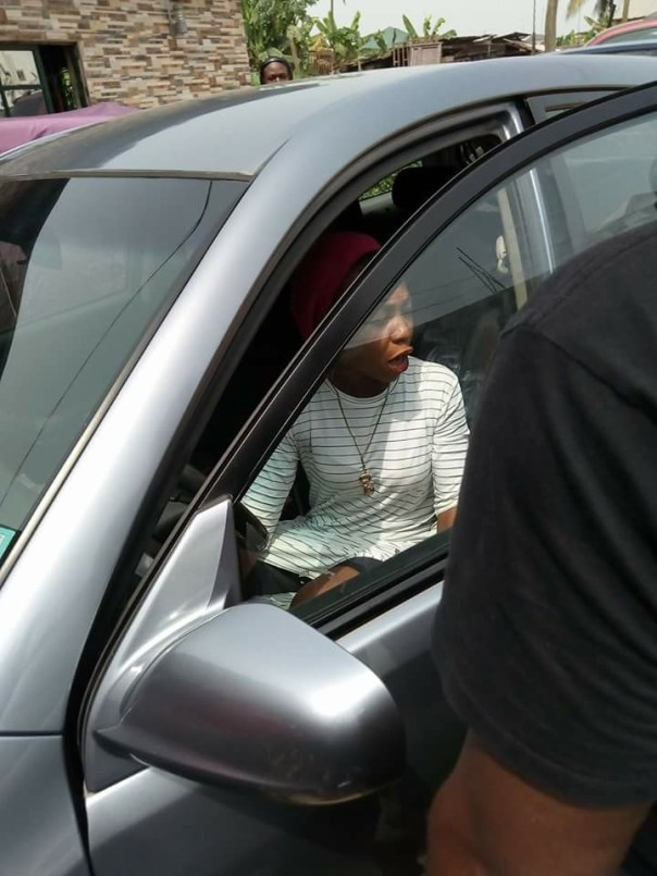 Woman Uses Her Husband's Car To Sow Seed In A Church (4)