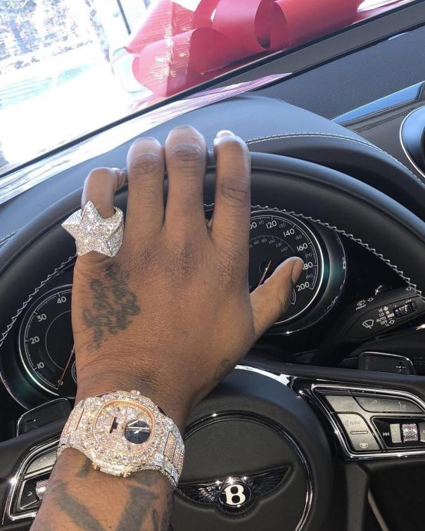 Davido Shows Off Expensive Watch From Ice Box