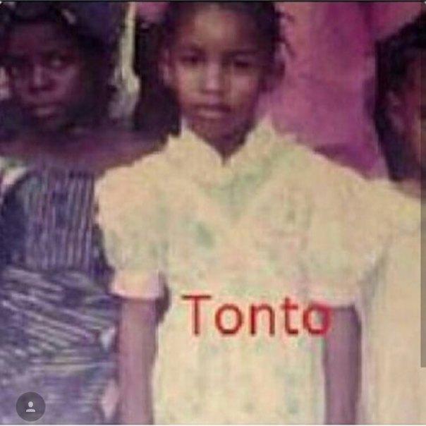 Throwback Of Tonto Dikeh As A Little Girl (2)