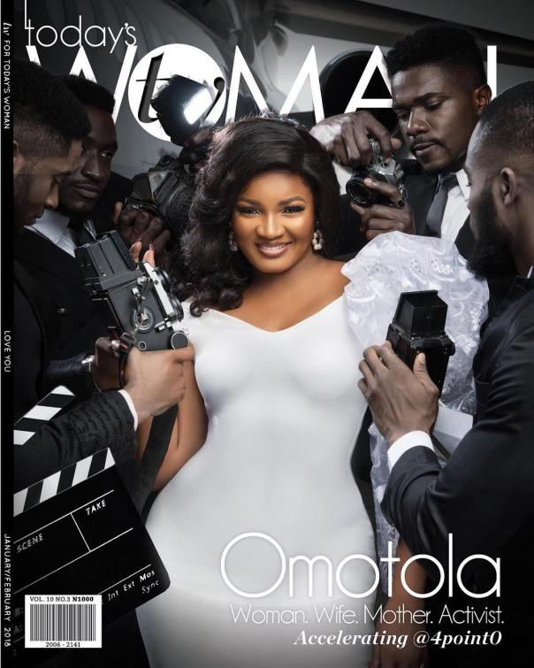 Omotola Is On The Front Cover Of TW magazine (2)