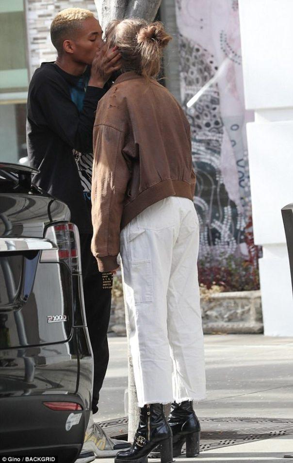 Jaden Smith And Girlfriend Odessa Adlon PDA-packed Show