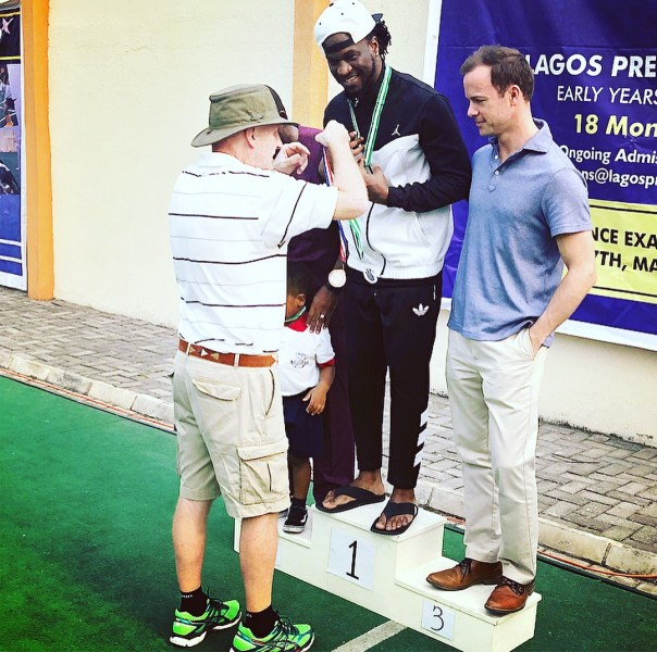 Paul Okoye Won Daddy's Race In Inter House Sports (2)