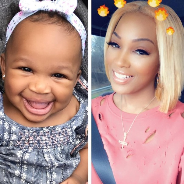 BrianaCamille Thinks Daughter Hermes Is Starting To Look More Like Her And Not Rick Ross (2)