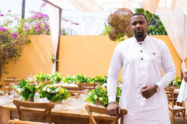 John Dumelo At Frederick Nuamah And Martekor Private Engagement Ceremony