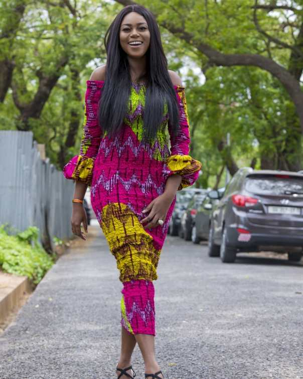 Yvonne Nelson Slays In African Print (2)