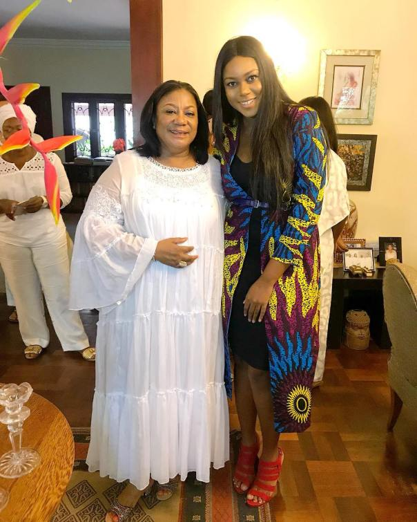 Yvonne Nelson Celebrated With Rebecca Akufo-Addo On Her Birthday (2)
