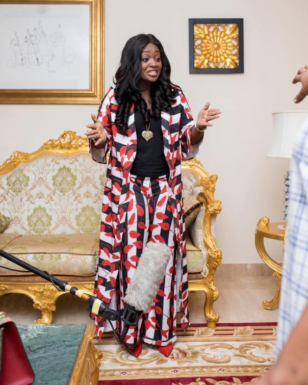 Jackie Appiah On Set Red Carpet The Movie (3)