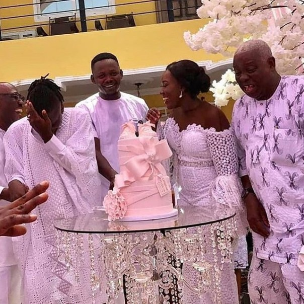 Stonebwoy's Mother-in-law At His Daughter's Naming Ceremony (6)