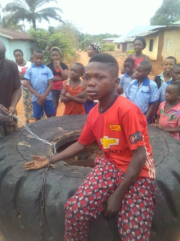 Nigerian Father Joins His Son To Rape His Own Daughter (4)