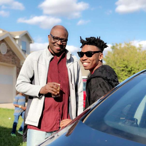 Photo Of Mayorkun With His Father