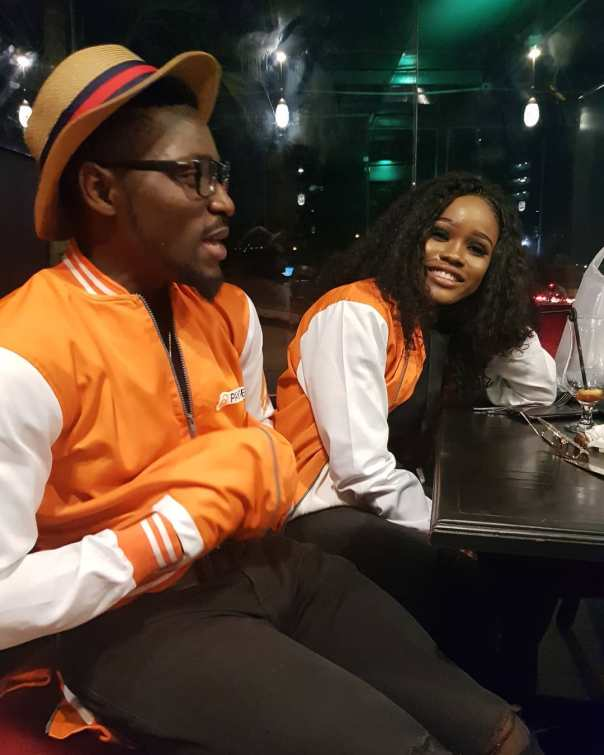 Tobi And Cee-C Reconcile At PayPorte Dinner (3)
