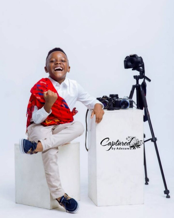 Paul Okoye And Wife Anita Celebrate Son Andre On His 5th Birthday (2)