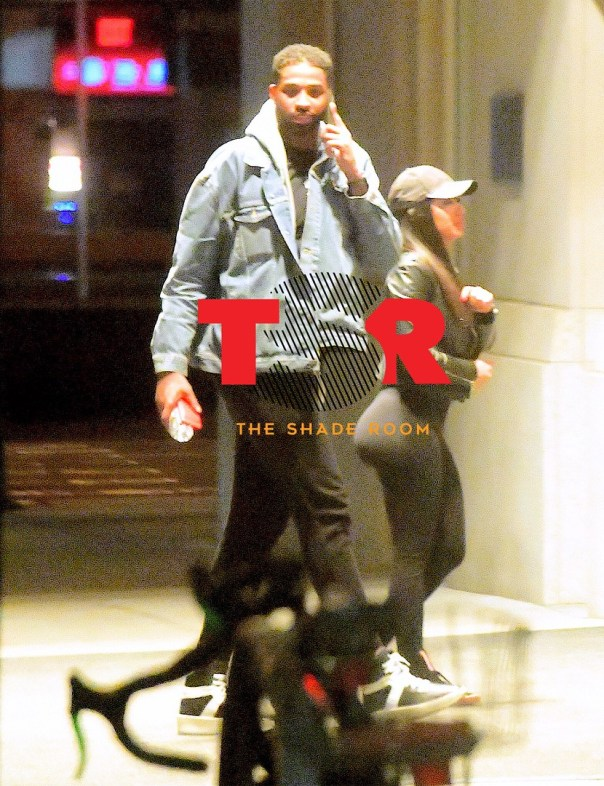 Tristan Thompson Caught On Video Kissing Mystery Woman In The Club (4)