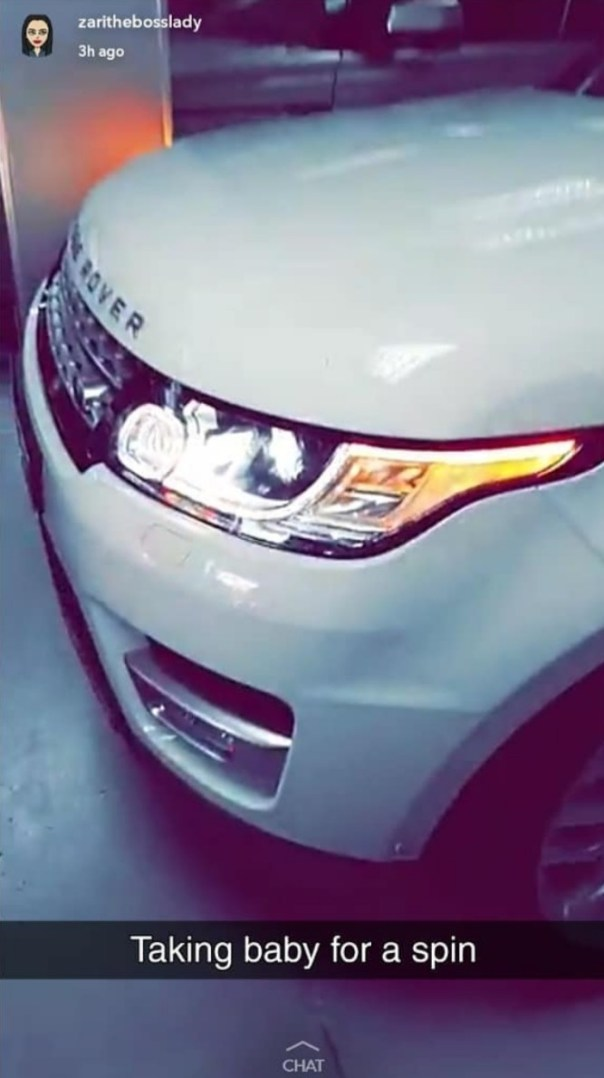 Zari Hassan Buys Range Rover Sport (4)