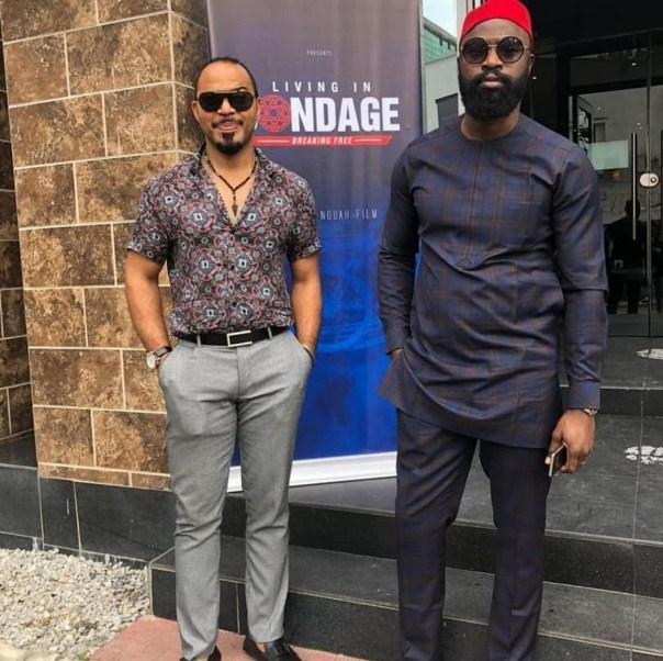 Ramsey Nouah Unveils The Remake Of Living In Bondage (2)