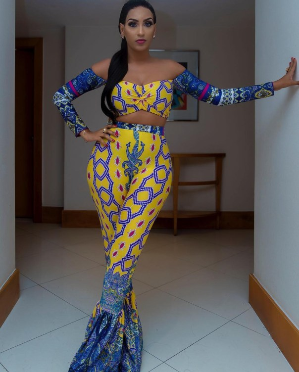 Juliet Ibrahim Slays In Two-piece Outfit From Koko By Khloe (2)
